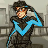 Nightwing by Ospreyghost13