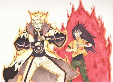 SasuNaru (family) ~ Protection.2 by artluvr103