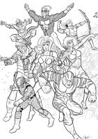 All New Uncanny ThunderForce by Kaufee