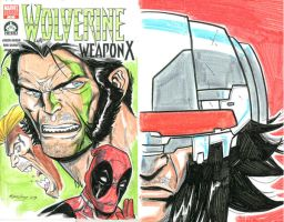 Wolverine Weapon X by ColtNoble