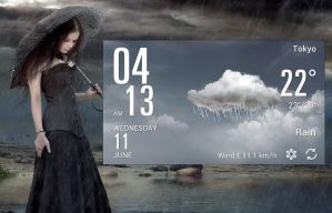 JK Weather HD for xwidget by jimking