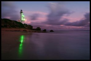 Point Lonsdale Lighthouse by steampoweredk9