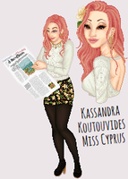 Miss Cyprus 14 by talsbee