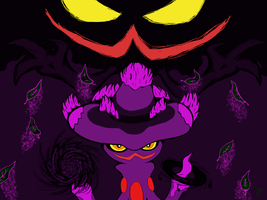 PMD-E: Badoma, the Mismagius -completed- by GG3095