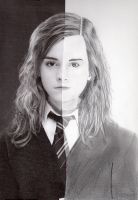 Half of Hermione by MaximumManga