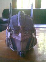 optimus head by aerizu