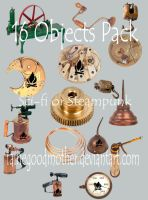 16 Piece Steampunk Tube Pack by FairieGoodMother