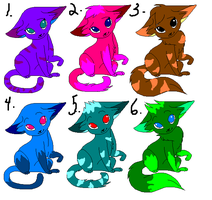 Kitty Adopts by GalaxyCookie