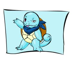 Mystery Dungeon: Squirtle by Iron-Zing