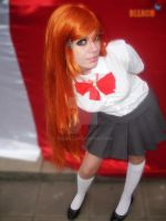 orihime cosplay by neliiell