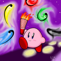 Kirby at the Olympics by Kyusil