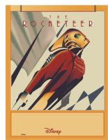 WIP - Rocketeer Vector Drawing by LoganM1988