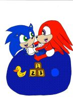 Request Baby Sonic and Knucky by Emily-Young