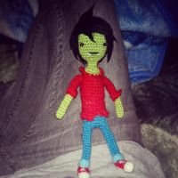 Adventure Time's Marshall Lee by michelle-murder