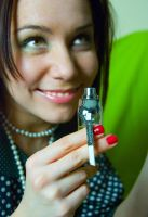 Perfume Sniff 12342415 by StockProject1