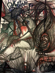 Demons - Colored Pencil drawing by chloe10108