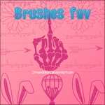+Brushes Fav by DrewEditions