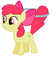 Apple Bloom - Hoola Hoopin by JoeMasterPencil