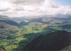 View from Blencathra by Stormhawke