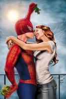 Spiderman and Miss. Watson by SarahPerryman