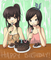 Happy Birthday RisusaTEN by Risu-ruru