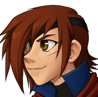 Vyse headshot by kittydee