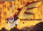 Natsu Dragonification? Fairy tail 435 by Maxibostero