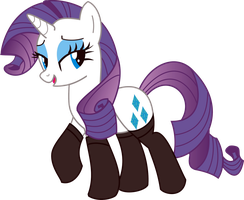Rarity PNG by leopurofriki