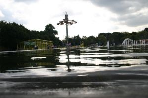 Gorky Park Fountain 3 by Blackthorness