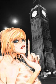 Heroine At Big Ben by frozen-winter-prince