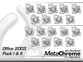 Metachrome Office 2003 Pack by weboso