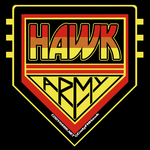 Cody Hawk 'Hawk Army' t-shirt design by MarkG72