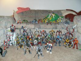 Bionicle Group Shot by BioMutt70