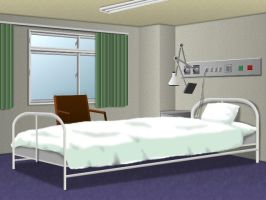 Hospital Bed by MarkLauck