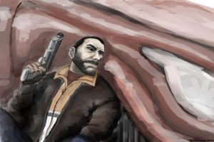 GTA 4 Niko Bellic by molcray