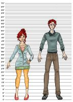 Height Comparison by Shauna-O-Connor