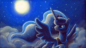 Art Academy Sketchpad: Luna by lazyperson202