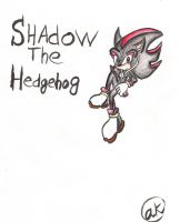 Shadow and an Ipod?? by animeroxygirl