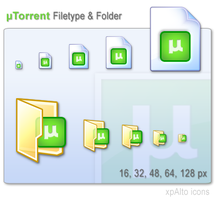 xpAlto uTorrent icons by graywz