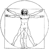 Vitruvian Man 2 Dock Icon by cmnixon