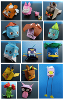 Pokecubes by madcadair