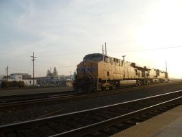 UP ES44AC 5343 by BNSF