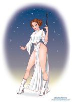 Princess Leia commission by ariartna