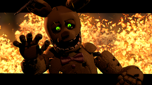 Save me.. Please..  ( Fnaf sfm ) by JR2417