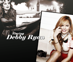 Staring Debby Ryan by JulieeBean