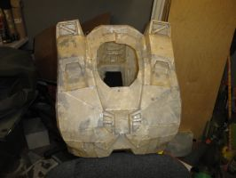 halo master cheif chest front by tomray