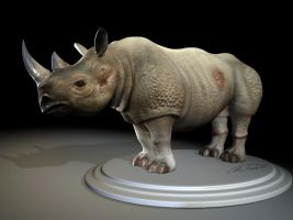 3D Rhino by GrendelDemon