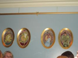 Princess and The Frog plates by renthegodofhumor