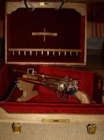 Gun steampunk and box by pollux1999