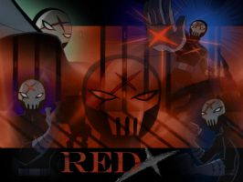 Red X by darkflame1516